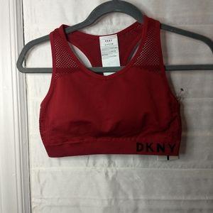 NWT DKNY sports bra
